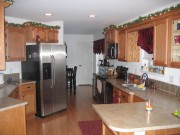Kitchen - Modular homes for sale