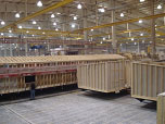 warehouse full of manufactured homes