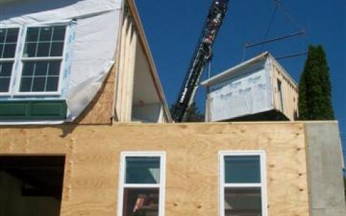 modular home construction