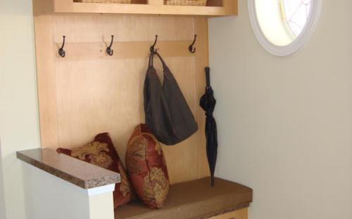 inside modular home