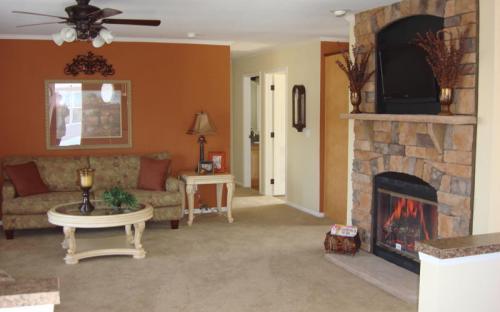 modernized modular home