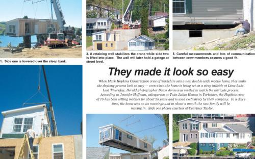 Twin Lakes Homes News Article